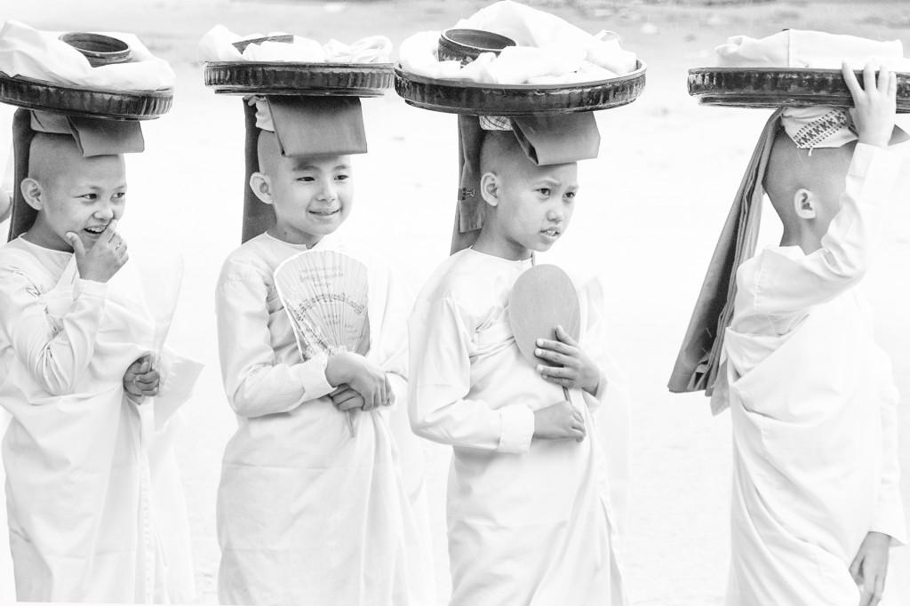 (2) Young Nuns
